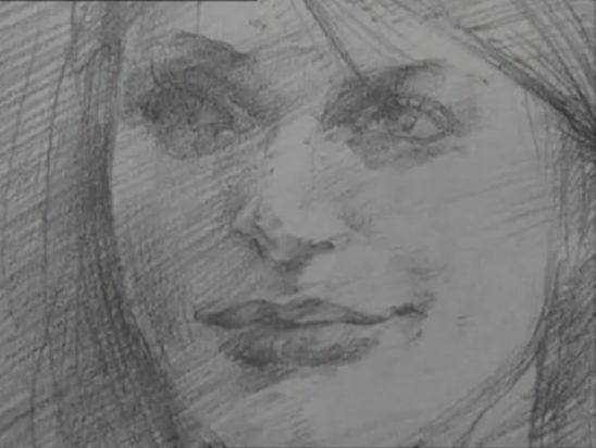 Silent Hill 2 Maria Pencil Art